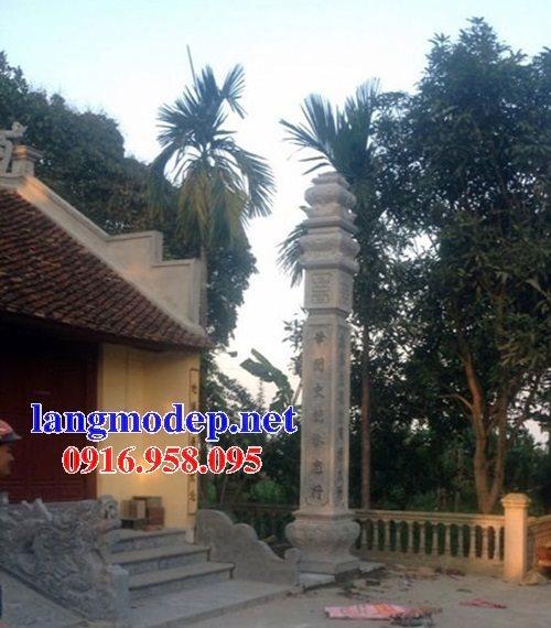 99 Mẫu cột đồng trụ đá bậc đá lát nhà thờ họ từ đường bằng đá đẹp bán tại điện biên 63