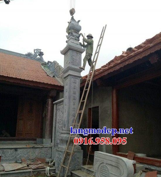 99 Mẫu cột đồng trụ đá bậc đá lát nhà thờ họ từ đường bằng đá đẹp bán tại lâm đồng 86