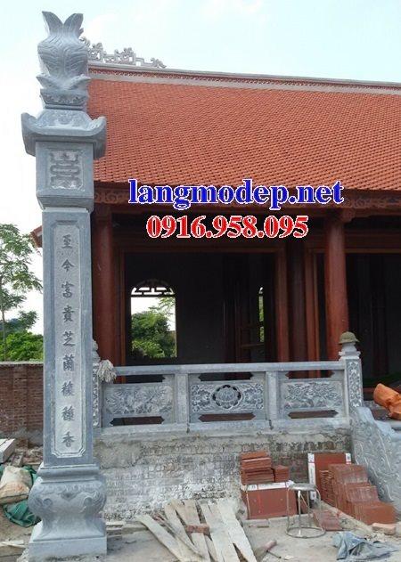 99 Mẫu cột đồng trụ đá bậc đá lát nhà thờ họ từ đường bằng đá đẹp bán tại phú yên 78