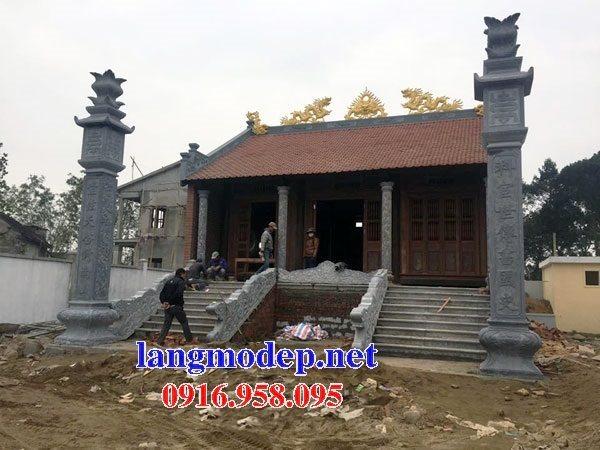99 Mẫu cột đồng trụ đá bậc đá lát nhà thờ họ từ đường bằng đá đẹp bán tại thái nguyên 58