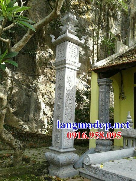 99 Mẫu cột đồng trụ đá bậc đá lát nhà thờ họ từ đường bằng đá đẹp bán tại thừa quảng nam 73