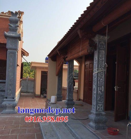 99 Mẫu cột vuông đá bậc thêm nhà gỗ bằng đá ninh bình đẹp nhất hiện nay 31