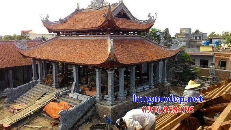 99 Mẫu cột vuông đình đền chùa miếu bằng đá mỹ nghệ ninh bình đẹp nhất hiện nay 39