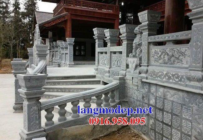 99 Mẫu cột vuông lan can tường rào đình đền chùa miếu bằng đá mỹ nghệ ninh bình đẹp nhất hiện nay 40