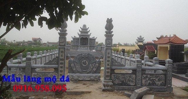 Bức bình phong lăng mộ gia tộc gia đình bằng đá đẹp nhất hiện nay bán toàn quốc 09