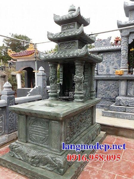 18 Mẫu mộ đá ba mái đẹp cất để hài tro cốt bán tại bến tre