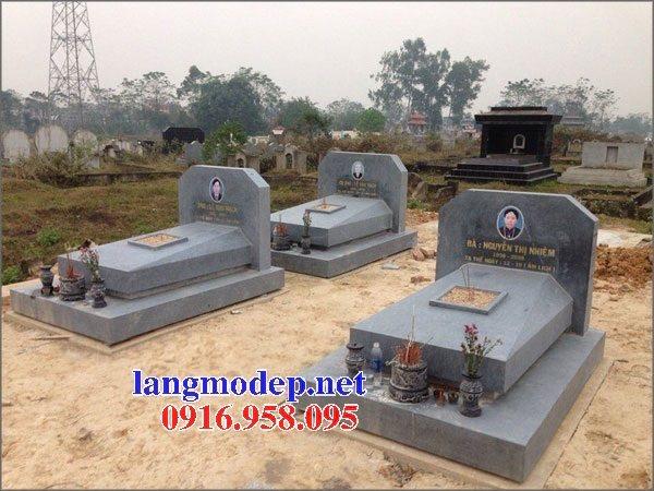 18 Mẫu mộ đá không mái bằng đá xanh thanh hóa bán tại đắk lắk