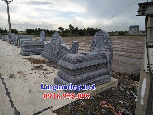 18 Mẫu mộ đá không mái bằng đá xanh thanh hóa bán tại bình dương