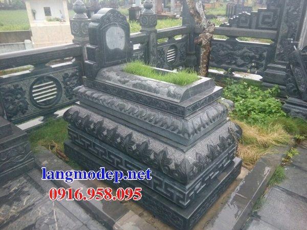 18 Mẫu mộ đá không mái bằng đá xanh thanh hóa bán tại gia lai