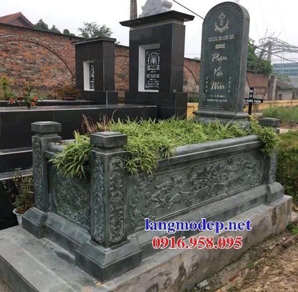 18 Mẫu mộ đá không mái bằng đá xanh thanh hóa bán tại kom tum