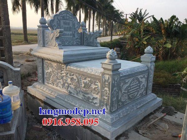 18 Mẫu mộ đá không mái bằng đá xanh thanh hóa bán tại sài gòn