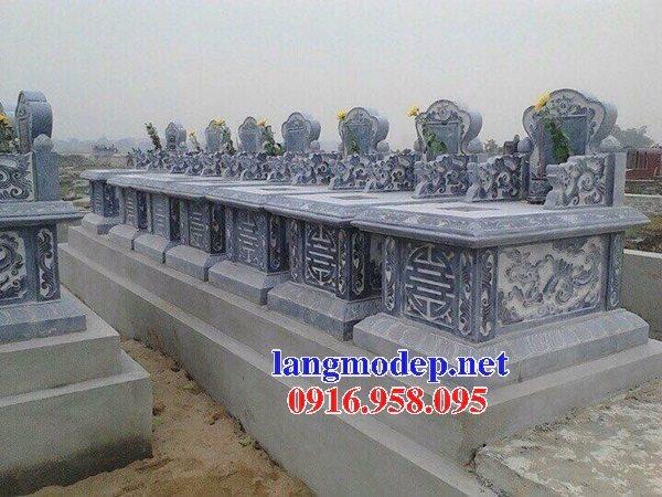 18 Mẫu mộ đá không mái bằng đá xanh thanh hóa bán toàn quốc