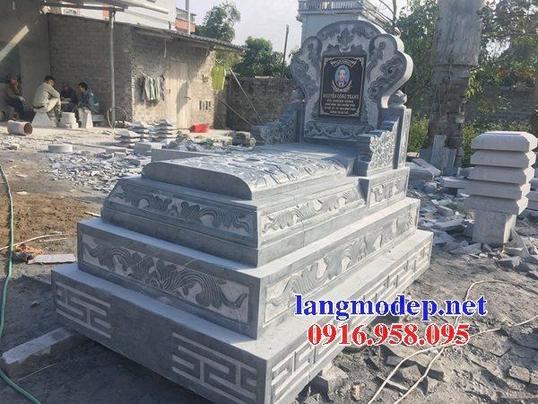 20 Mẫu mộ đá mỹ nghệ ninh bình không mái đẹp bán tại cà mau