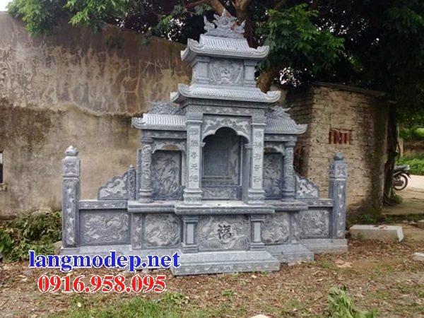 25 Mẫu lăng mộ đá đẹp bán tại bắc giang