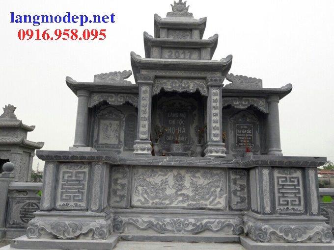 25 Mẫu lăng mộ đá đẹp bán tại tuyên quang
