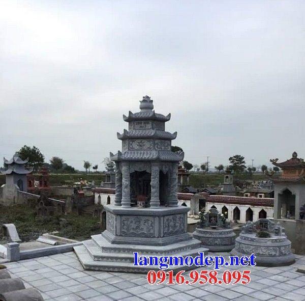 16 Mẫu mộ tháp đá đẹp bán lắp đặt tại long an