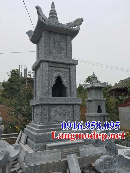 16 Mẫu mộ tháp đá đẹp bán lắp đặt tại sài gòn