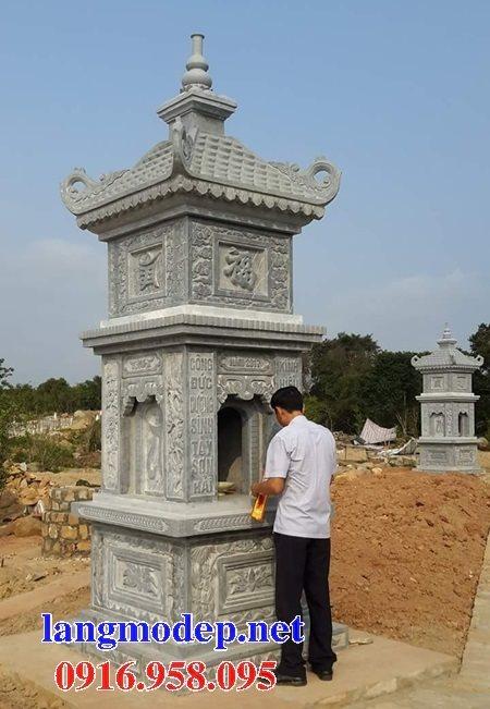 16 Mẫu mộ tháp đá đẹp nhất hiện nay