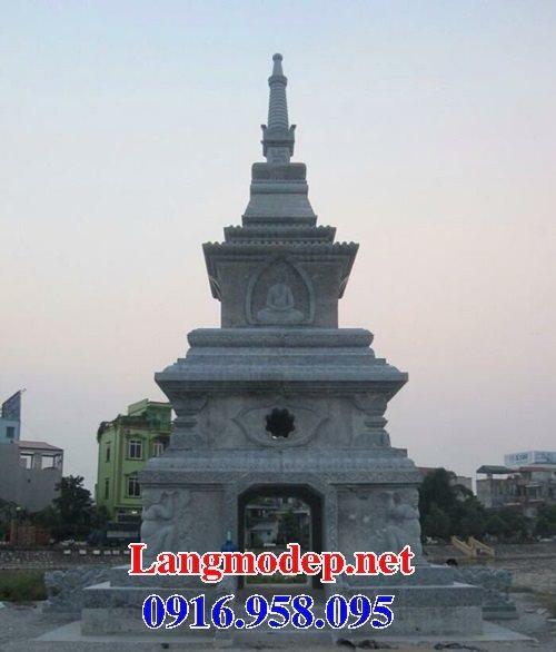 16 Mẫu mộ tháp đá đẹp thiết kế hiện đại