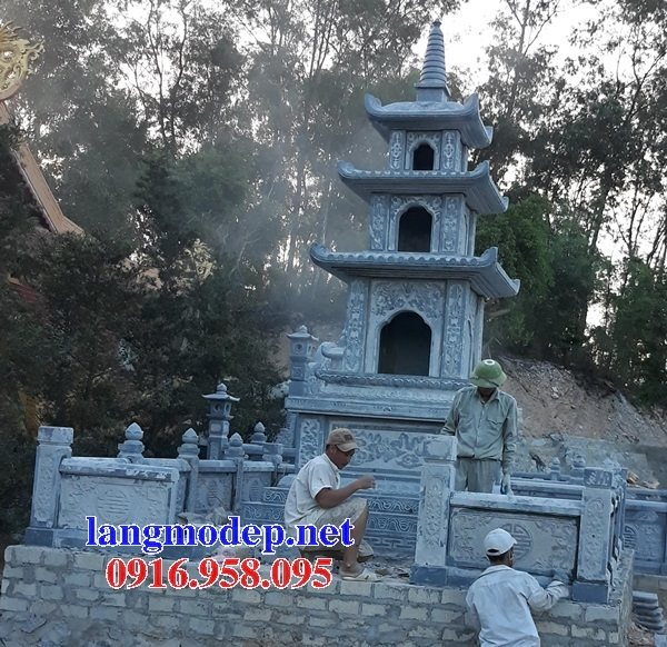 16 Mẫu mộ tháp đá cất để tro cốt đẹp