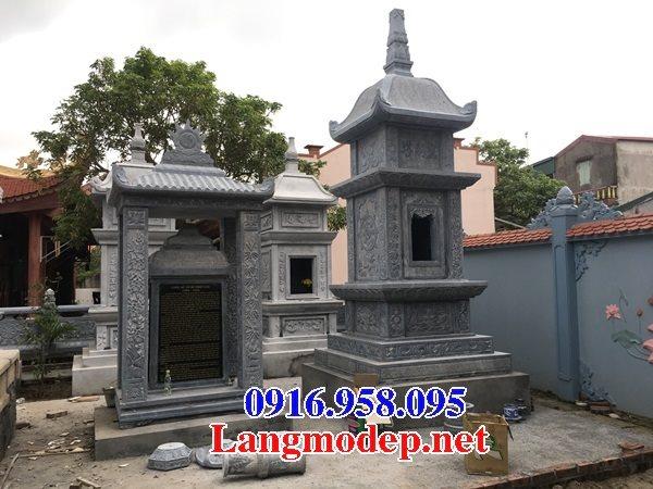 16 Mẫu mộ tháp đá ninh bình đẹp