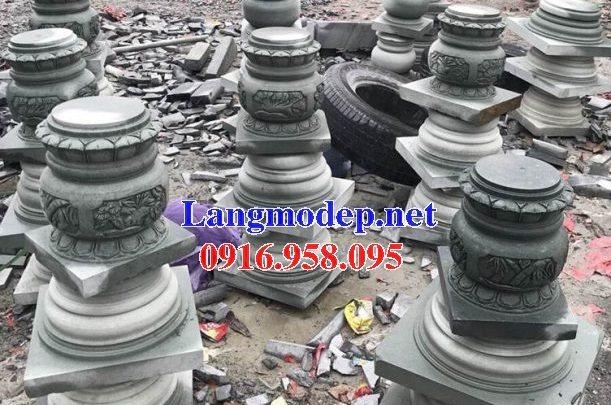 18 Mẫu chân cột đá nhà thờ họ đẹp bán tại quảng ninh