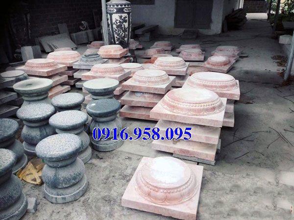 18 Mẫu chân cột đá nhà thờ họ đẹp bán tại thanh hóa