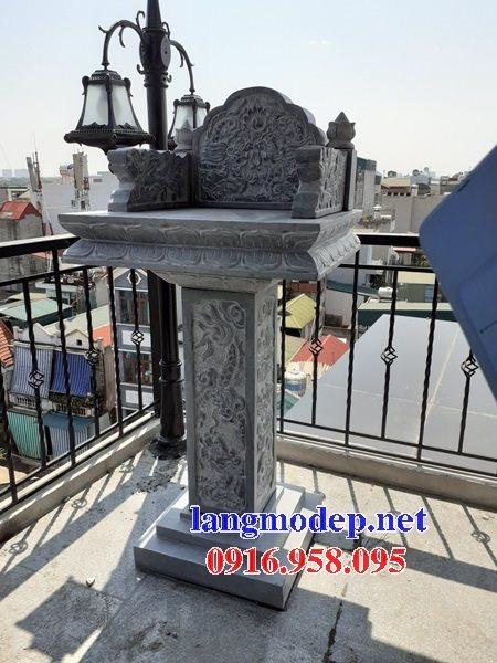 38 Mẫu bàn thờ ông thiên ngoài trời đẹp bằng đá bán tại đồng nai
