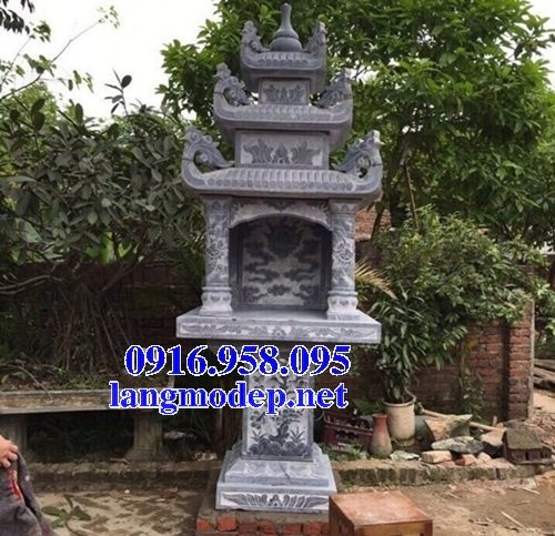 38 Mẫu bàn thờ ông thiên ngoài trời đẹp bằng đá bán tại bình định