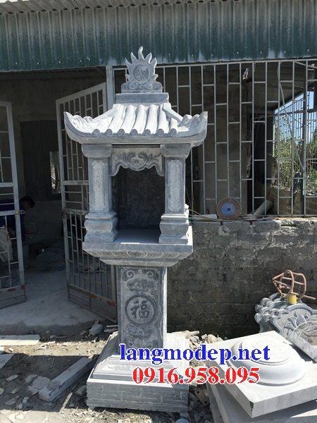 38 Mẫu bàn thờ ông thiên ngoài trời đẹp bằng đá bán tại gia lai