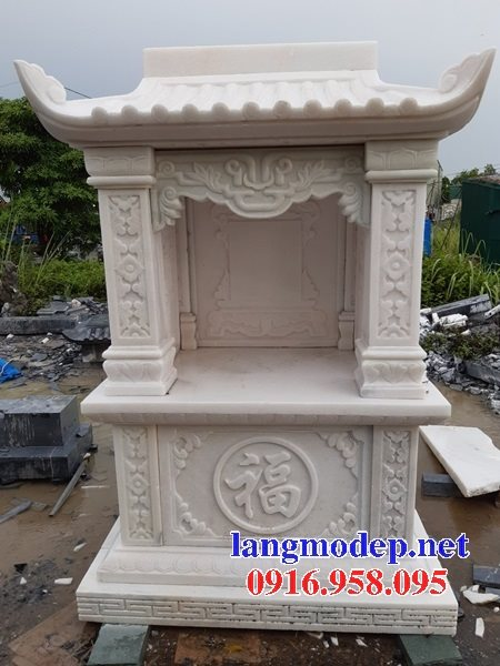 38 Mẫu bàn thờ ông thiên ngoài trời đẹp bằng đá bán tại lâm đồng