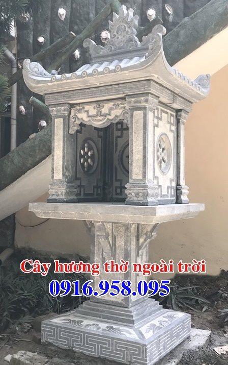 38 Mẫu bàn thờ ông thiên ngoài trời đẹp bằng đá bán tại nghệ an