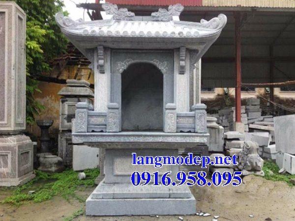 38 Mẫu bàn thờ ông thiên ngoài trời đẹp bằng đá bán tại ninh thuận
