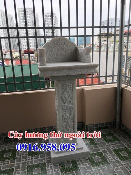 38 Mẫu bàn thờ ông thiên ngoài trời đẹp bằng đá bán tại thanh hóa