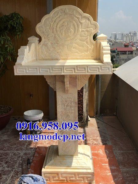 38 Mẫu bàn thờ ông thiên ngoài trời đẹp bằng đá bán tại trà vinh