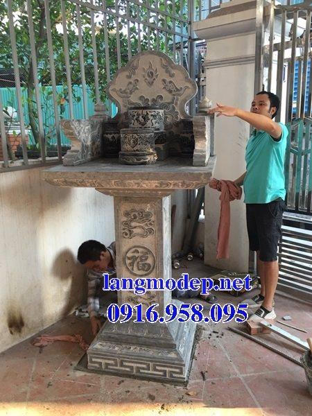 38 Mẫu bàn thờ ông thiên ngoài trời đẹp bằng đá bán tại vĩnh long