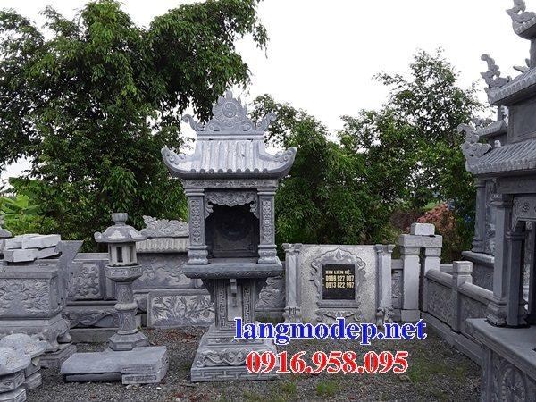 38 Mẫu bàn thờ ông thiên ngoài trời đẹp bằng đá kích thước phong thủy