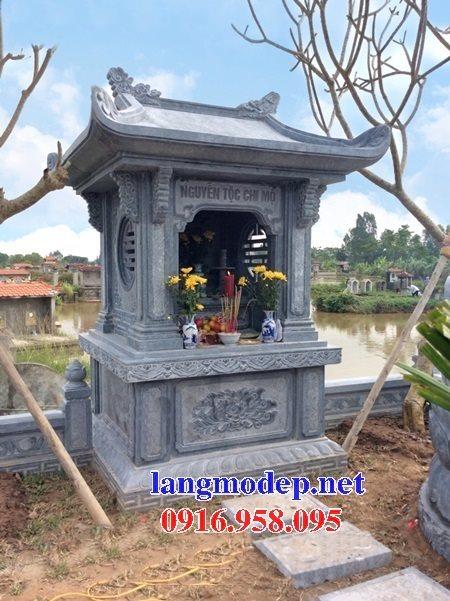 38 Mẫu bàn thờ miếu thờ ông thiên ngoài trời đẹp bằng đá