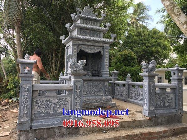 50 Mẫu nghê đá đầu cột khu nghĩa trang lăng mộ gia đình phong thủy