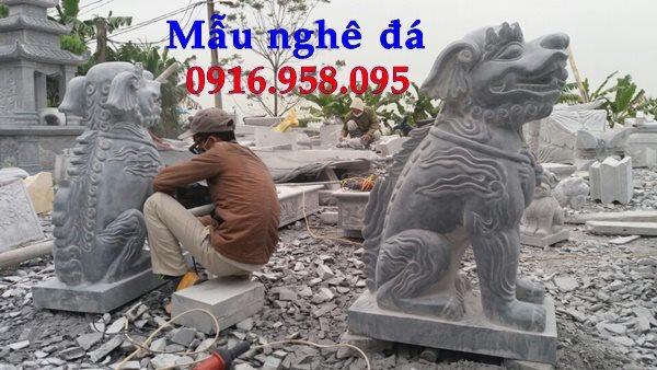 50 Mẫu nghê đá phong thủy bán tại long an