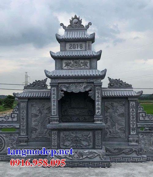 Các mẫu lăng thờ chung khu lăng mộ đá đẹp bán tại Ninh Bình