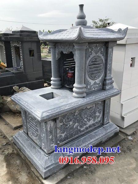 Các mẫu mộ đá đơn giản một mái đẹp bán tại Ninh Bình