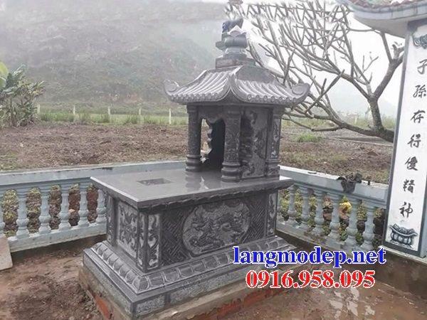 Các mẫu mộ đá có một mái che đẹp bán tại Ninh Bình