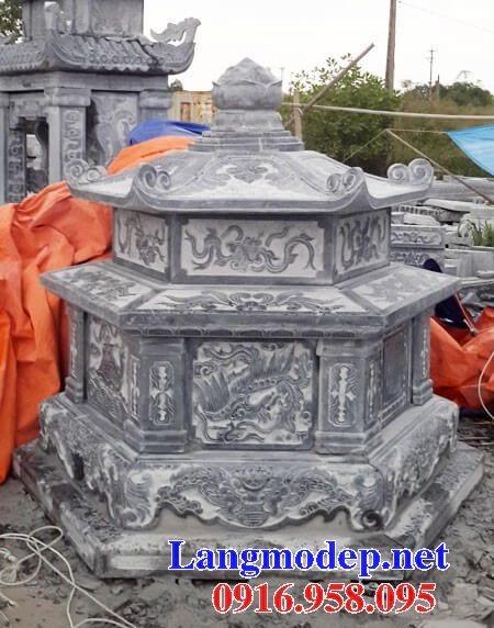 Các mẫu mộ lục lăng bằng đá đẹp