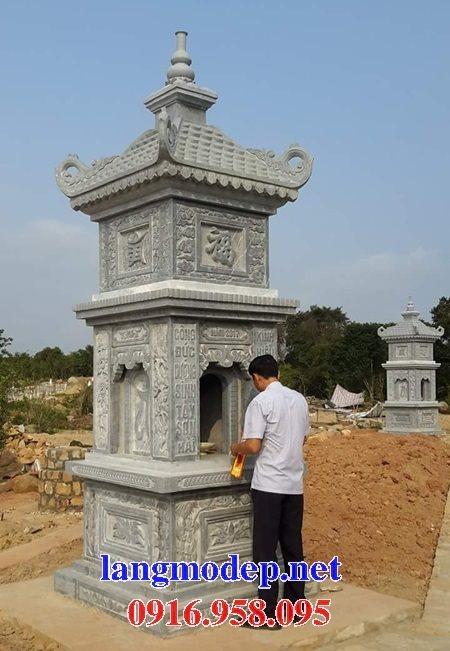 Các mẫu mộ tháp bằng đá xanh đẹp đẹp bán tại Ninh Bình