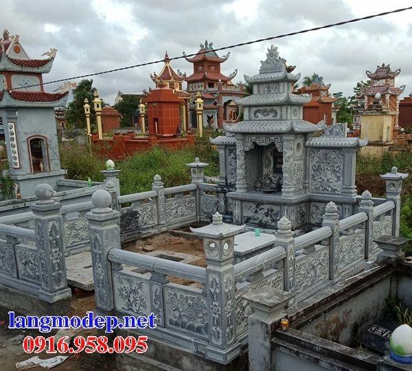 Các mẫu nghĩa trang gia đình bằng đá xanh thanh hóa đẹp