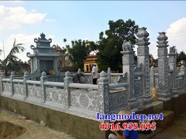 Các mẫu nghĩa trang khu lăng mộ gia đình dòng đá đẹp bán tại Ninh Bình