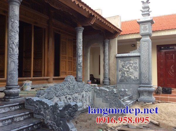 Mẫu cột đồng trụ đá mỹ nghệ Ninh Bình