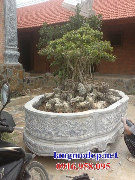 Mẫu chậu bể cảnh trồng cây đẹp bằng đá tự nhiên bán toàn quốc