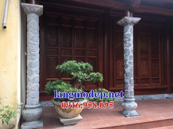 Những mẫu cột đá tròn nhà thờ họ đẹp